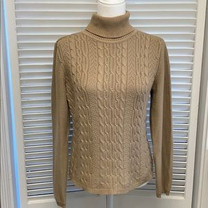 Liz Claiborne CRAZY HORSE cable knit sweater